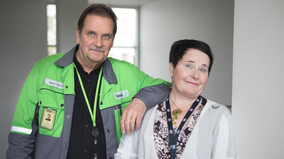 Rautpohjan mitalla palvelua – pieni siivoussopimus kasvoi kattavaksi kumppanuudeksi